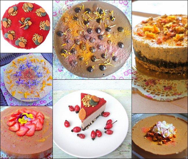 Nyers vegán torták Egerben