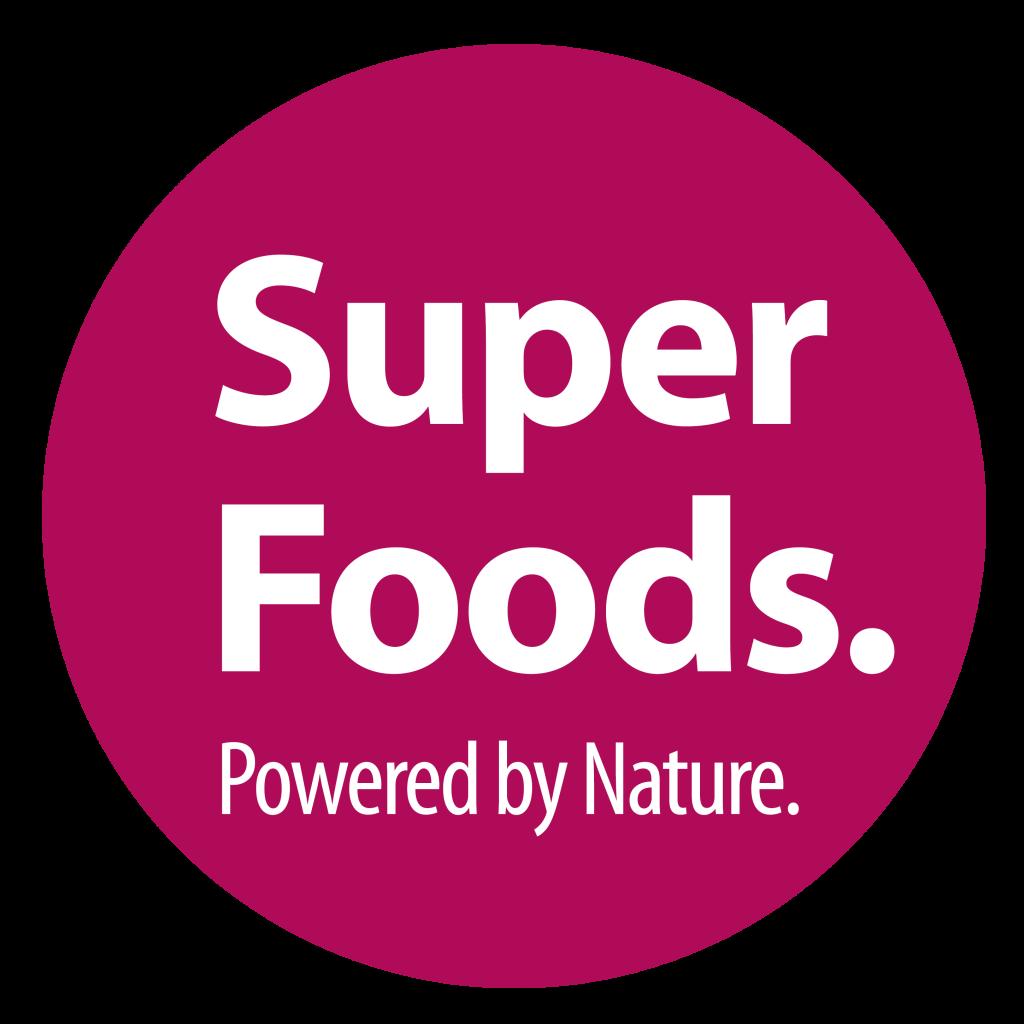 SuperFoods logo keret nélkul lila